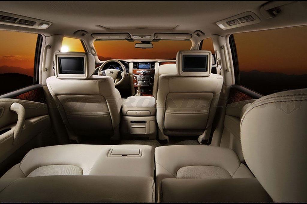 Nissan patrol y62 interior