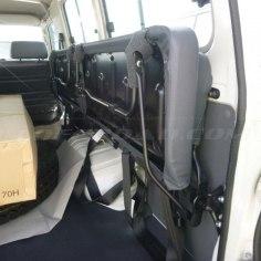 Interior 13 asientos Toyota Landcruiser HZJ78 4.2 diesel